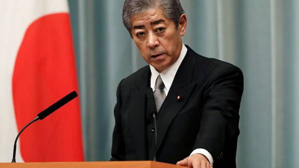 Japan's defence minister says South Korean decision to end intelligence pact regrettable
