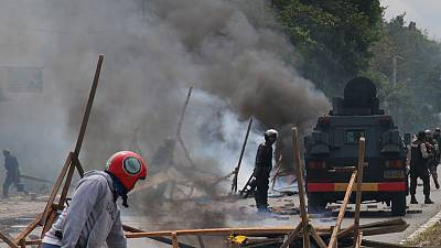 Rights group, journalists press Indonesian government to lift internet curb in restive Papua