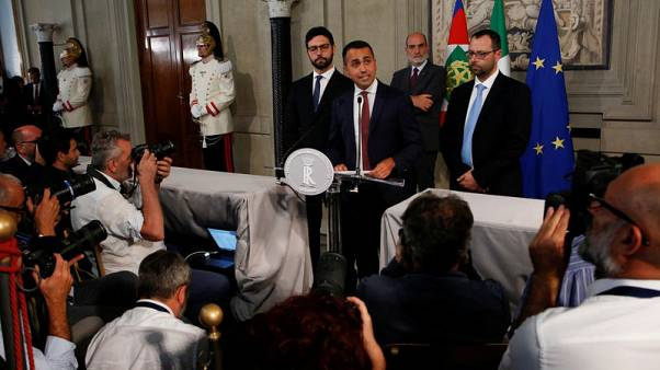 Italy's Di Maio says cutting number of MPs cannot wait-paper