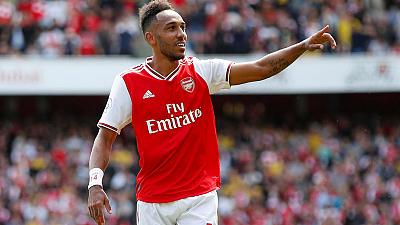 Arsenal trio can match Liverpool's front three: Aubameyang