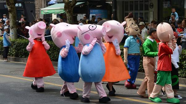 Shares in Peppa Pig owner rise past Hasbro offer