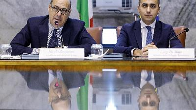 Governo: alle 14 incontro M5s-Pd
