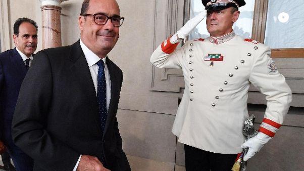 Zingaretti, nessuna manovra di Gentiloni