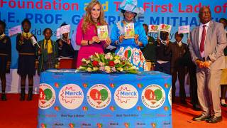Merck Foundation in partnership with the First Lady of Malawi launches a children story to teach children and youth family values of love and respect- The Story of Limbani and Takondwa