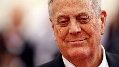وفاة الملياردير ورجل الصناعة الأمريكي ديفيد كوك عن 79 عاما