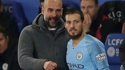 Guardiola hails skipper Silva ahead of Manchester City milestone