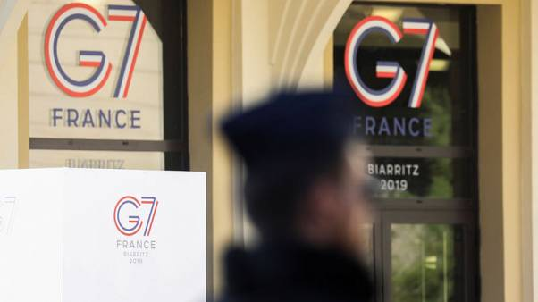France, Britain aim to show unity on Iran as G7 looms
