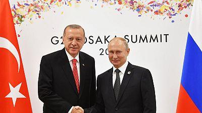 الرئاسة التركية: أردوغان يزور روسيا في 27 أغسطس
