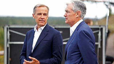 UK economy headed for stagnation in third quarter - BoE's Carney