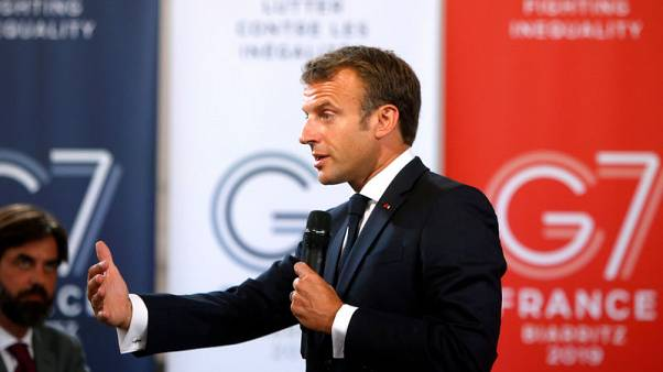 France's Macron to push for charter on biodiversity at G7 summit