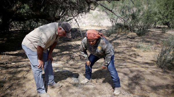 Mexican families scour arid plains for graves of disappeared