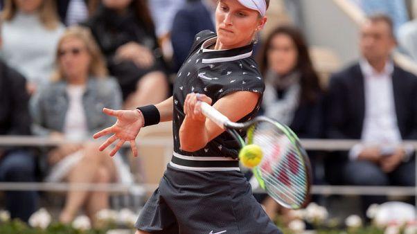 Vondrousova out of U.S. Open with wrist injury