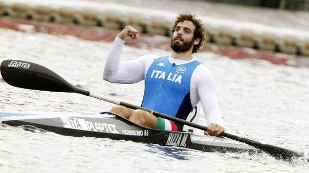 Canoa: Rizza conquista il pass olimpico