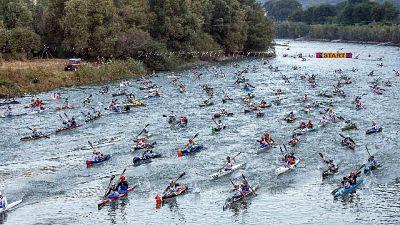 Canoa:il 20 ottobre l'Adigemarathon n.16