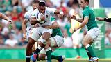 Rampant England thrash Ireland 57-15 to lay down World Cup marker