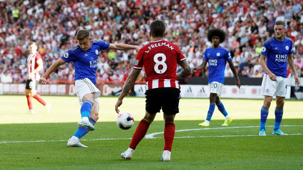 Barnes strike for Foxes ends Sheffield United's bright start