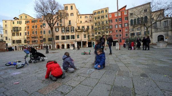 Venezia, ecco aree per giochi con palla