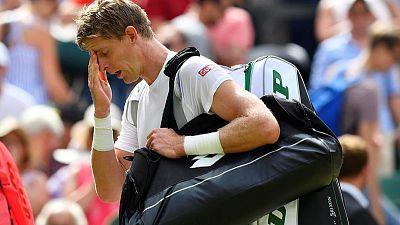 اندرسون ينسحب من بطولة أمريكا المفتوحة للتنس بسبب إصابة في الركبة