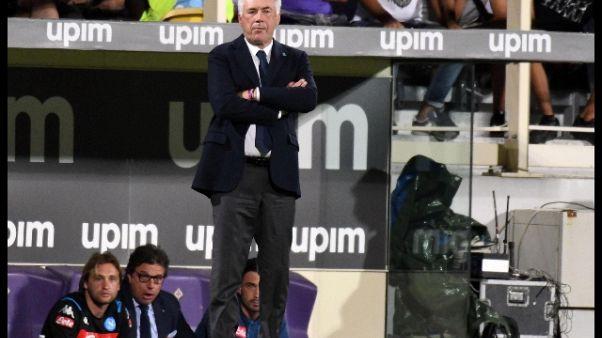 Ancelotti, insultato per 90 minuti