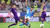Napoli win seven-goal thriller at Fiorentina amid VAR controversy