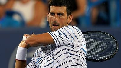 Djokovic unfazed by foot blisters ahead of U.S. Open