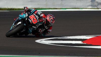 Moto: warm up, Quartararo il più veloce