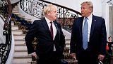 """ترامب يعرض على بريطانيا اتفاقا تجاريا """"كبيرا جدا"""" في قمة السبع"""
