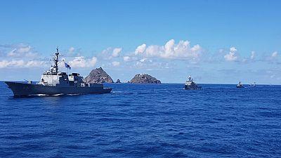 اليابان تحتج على تدريبات عسكرية كورية جنوبية في محيط جزيرة متنازع عليها