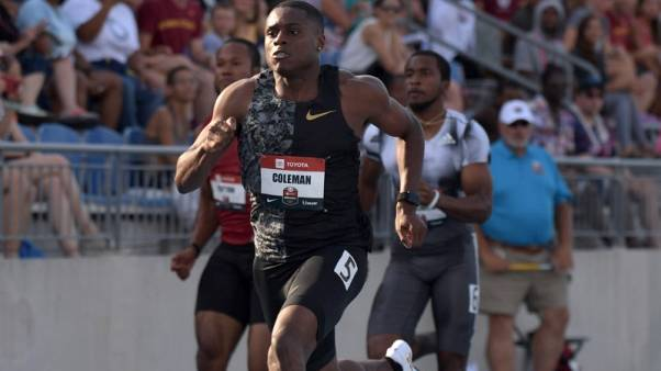 Athletics - Edoburun criticises Coleman after U.S. doping agency charges