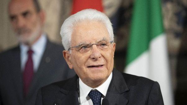 Mattarella, oblio storia è rischio grave