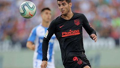 أتليتيكو يواصل بدايته الرائعة في الدوري الاسباني بفوزه على ليجانيس
