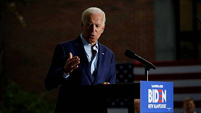 Joe Biden touts electability amid verbal stumbles in important New Hampshire