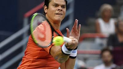 Raonic withdraws from U.S. Open with glute injury