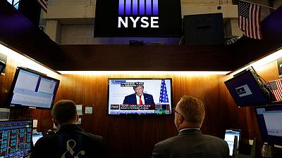 Global stocks, dollar rise as Trump remarks ease China trade tensions