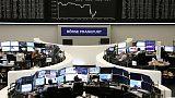 الأسهم الأوروبية تهوي بسبب الحرب التجارية