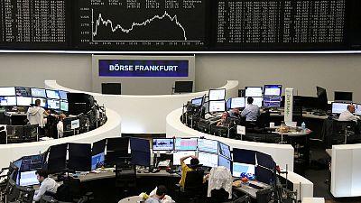 European stocks slip to one-week low on trade war hit