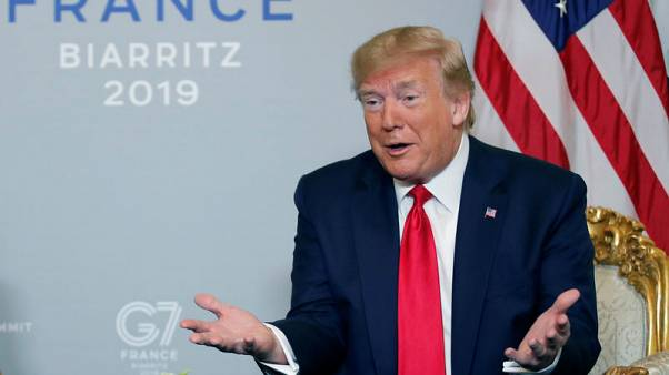 Trump says possible French wine levy depends on digital tax talks