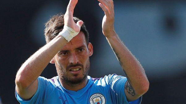 400 the magic number as Guardiola hails Silva, Aguero