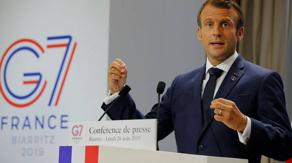 Macron delivers breakthrough on Iran at tense G7 summit, but little else