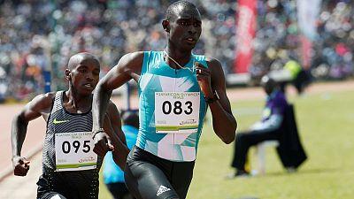 Athletics - Rudisha unhurt after car crash in Kenya