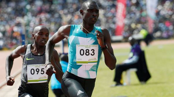 Athletics - Rudisha unhurt after car crash in Kenya