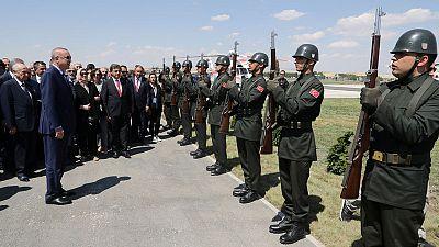 Erdogan says Turkish troops will enter planned Syria safe zone 'soon'