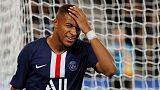 PSG forwards Mbappe, Cavani sidelined by injuries