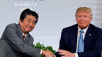 Trump not considering U.S. tariffs on Japanese autos 'at this moment'