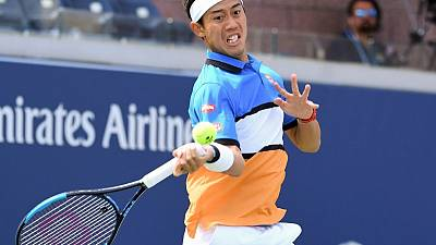 Nishikori cruises into U.S. Open second round