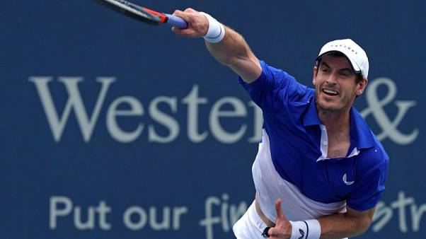 Murray enjoys first singles win since hip surgery