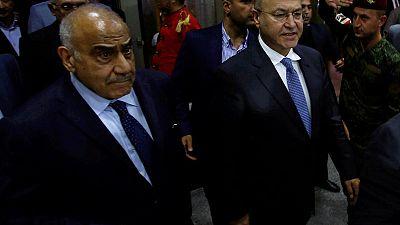 رئيس العراق ورئيس وزرائه ينددان بضربات جوية قرب الحدود السورية