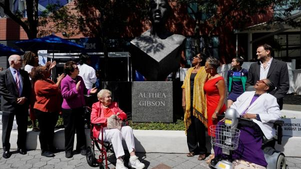 Trailblazer Althea Gibson honoured with statue at U.S. Open