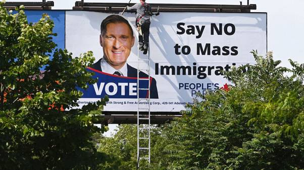 Anti-immigration billboards across Canada taken down after backlash