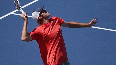 Opelka stuns Fognini in early U.S. Open upset